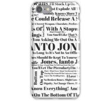 Ianto Jones Quotes iPhone Case/Skin
