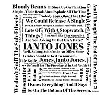 Ianto Jones Quotes Photographic Print