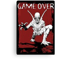 Game Over Man! Canvas Print