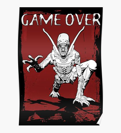 Game Over Man! Poster
