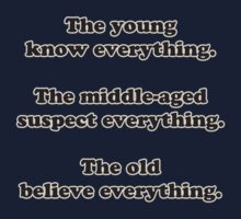 The young know everything... by Buckwhite