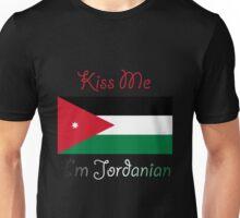 Kiss Me I'm Jordanian Unisex T-Shirt