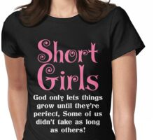 SHORT GIRLS Womens Fitted T-Shirt