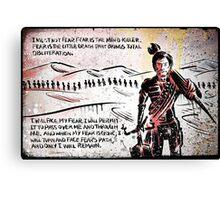 Paul Atreides from Dune Canvas Print