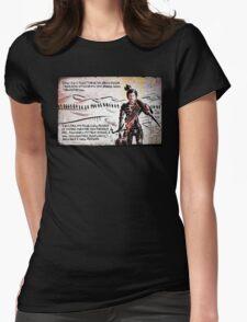 Paul Atreides from Dune Womens Fitted T-Shirt