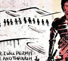 Paul Atreides from Dune Sticker