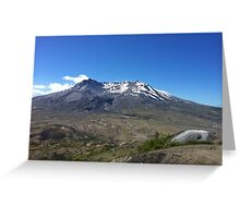 Mt. St. Helens Crater Greeting Card