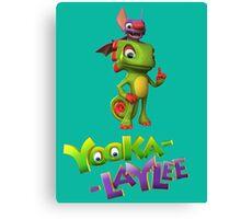 Yooka-Laylee Canvas Print