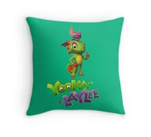 Yooka-Laylee Throw Pillow