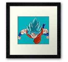 Goku Ssjgssj Framed Print