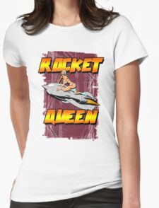 Rocket Queen Womens Fitted T-Shirt