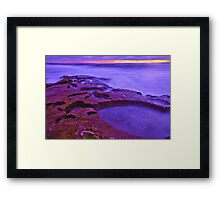 Jumping Off Point Framed Print