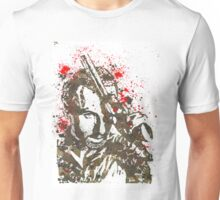 Rick Grimes The Walking Dead Watercolor and Ink Unisex T-Shirt