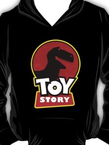 Disney's Toy Story Jurassic Park Theme by spazivuoti T-Shirt