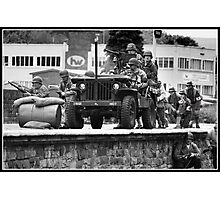 Jeep formation Photographic Print