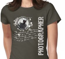 The Alchemy of Photography Womens Fitted T-Shirt