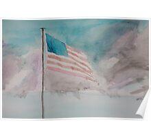 Storm over Patriotism Poster