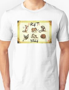 Rat Yoga Unisex T-Shirt