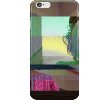 Horror mask glitch, digital glitch iPhone Case/Skin