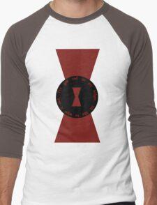 Red in my Ledger Men's Baseball ¾ T-Shirt