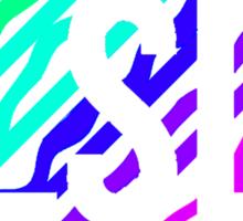 LSD Melting Colorful Sticker