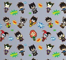 Gotham City Cuties by juiceboxjay