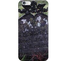 Old Tomb iPhone Case/Skin