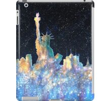 Liberty And New York Cosmos iPad Case/Skin