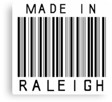Made in Raleigh Canvas Print