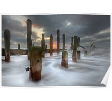 Moody Spurn Point Poster
