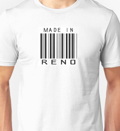 Made in Reno Unisex T-Shirt