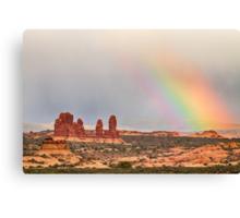 Intense Rainbow Canvas Print