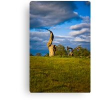 Come Back Its Just a Flesh Wound Canvas Print