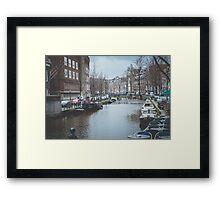 Nostalgic Rainy Day... Framed Print