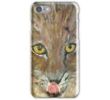 Yellow Eyed Cat iPhone Case/Skin
