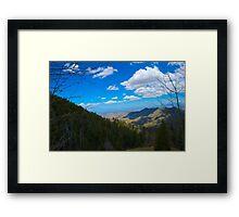Breathtaking Mt. Lemmon Framed Print