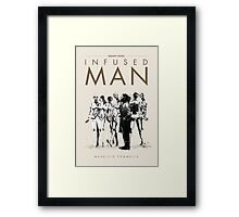 Infused Man - Cover Framed Print