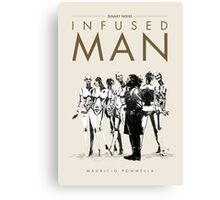 Infused Man - Cover Canvas Print