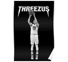 THREEZUS - Stephen Curry  Poster