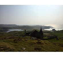 Church in Stoer, Scottish Highlands Photographic Print