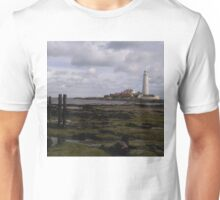 Saint Mary's Lighthouse Whitley Bay Unisex T-Shirt