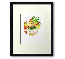 Smash Bowser Jr Framed Print