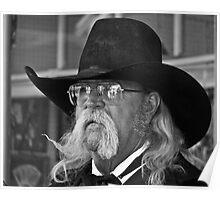 Big Black Hat Poster