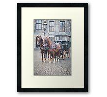 Carriage for Princess Framed Print