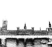 Houses of Parliment by Deathstar2009