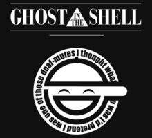 Ghost in the Shell T-shirt / Phone case / Mug / More 3 by zehel