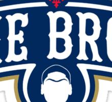 The Brow (Blue) Sticker
