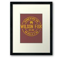 Wilson Fisk & Daredevil Framed Print