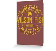 Wilson Fisk & Daredevil Greeting Card