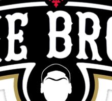 The Brow (Black) Sticker